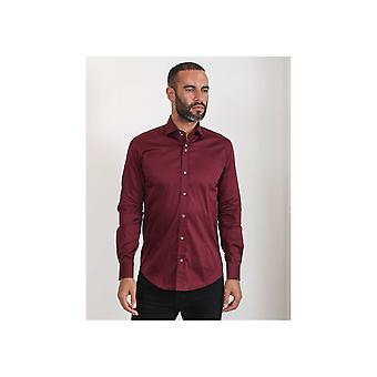 Guide London Smart Shirts 2 Button Neck Detail