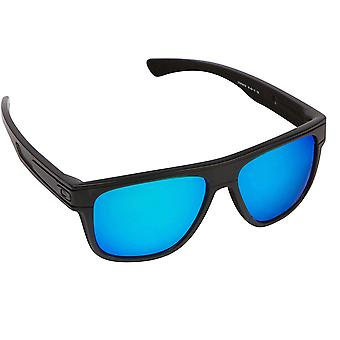 BREADBOX Replacement Lenses Polarized Black & Blue by SEEK fits OAKLEY