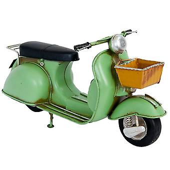 Model Retro Scooter Groen