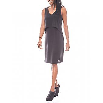 B.C.. best connections short ladies layered look of short black Jersey dress