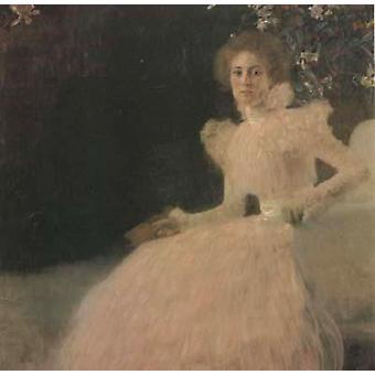 Portrait of Sonja Knips, Gustav Klimt, 50x50cm