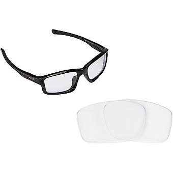 Best SEEK OPTICS Replacement Lenses for Oakley CHAINLINK Clear