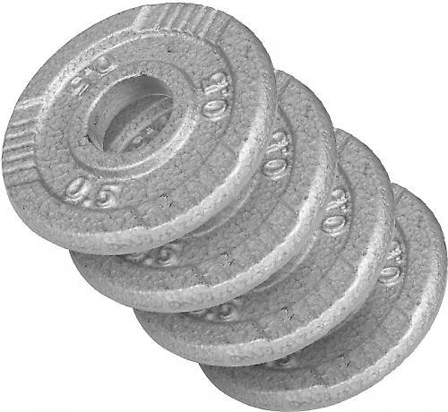 4 x poids disque en fonte de 0.5 kg
