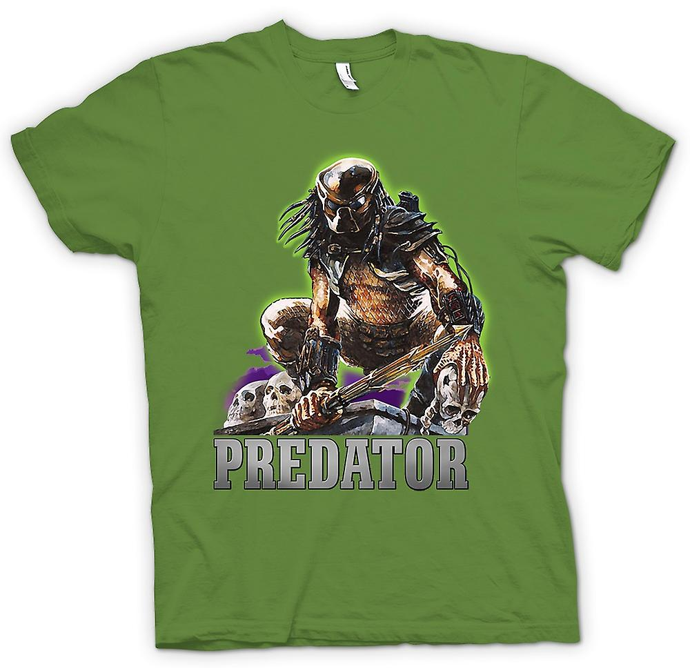 Mens t-shirt - Predator Hunter - film classico