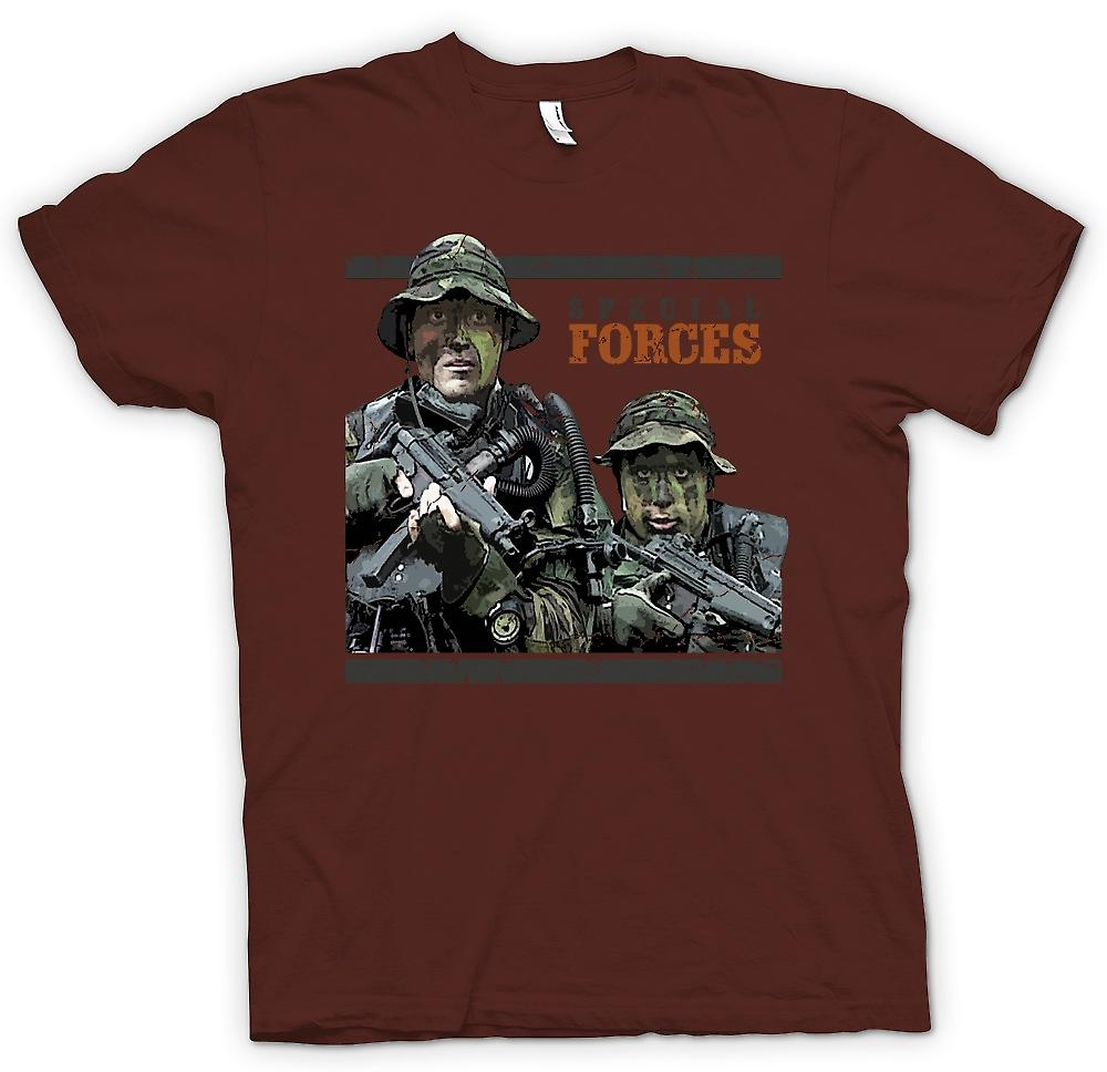 Mens t-shirt - Special Forces - SAS SBS ispirato