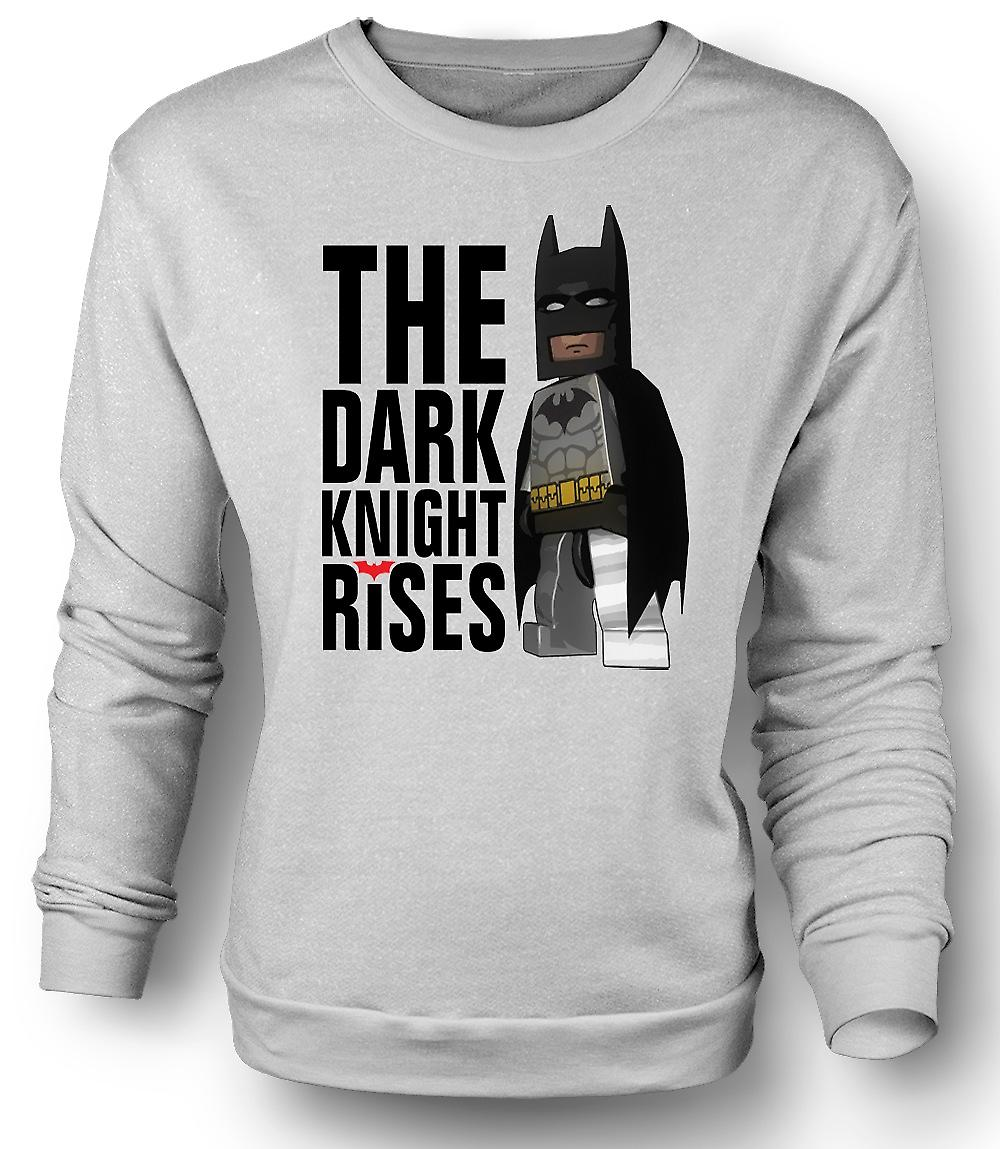 Mens Sweatshirt Batman Lego Super Hero - Dark Knight Rises