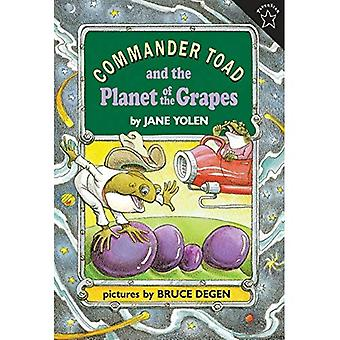 Commander Toad and the Planet of the Grapes (Commander Toad Series)
