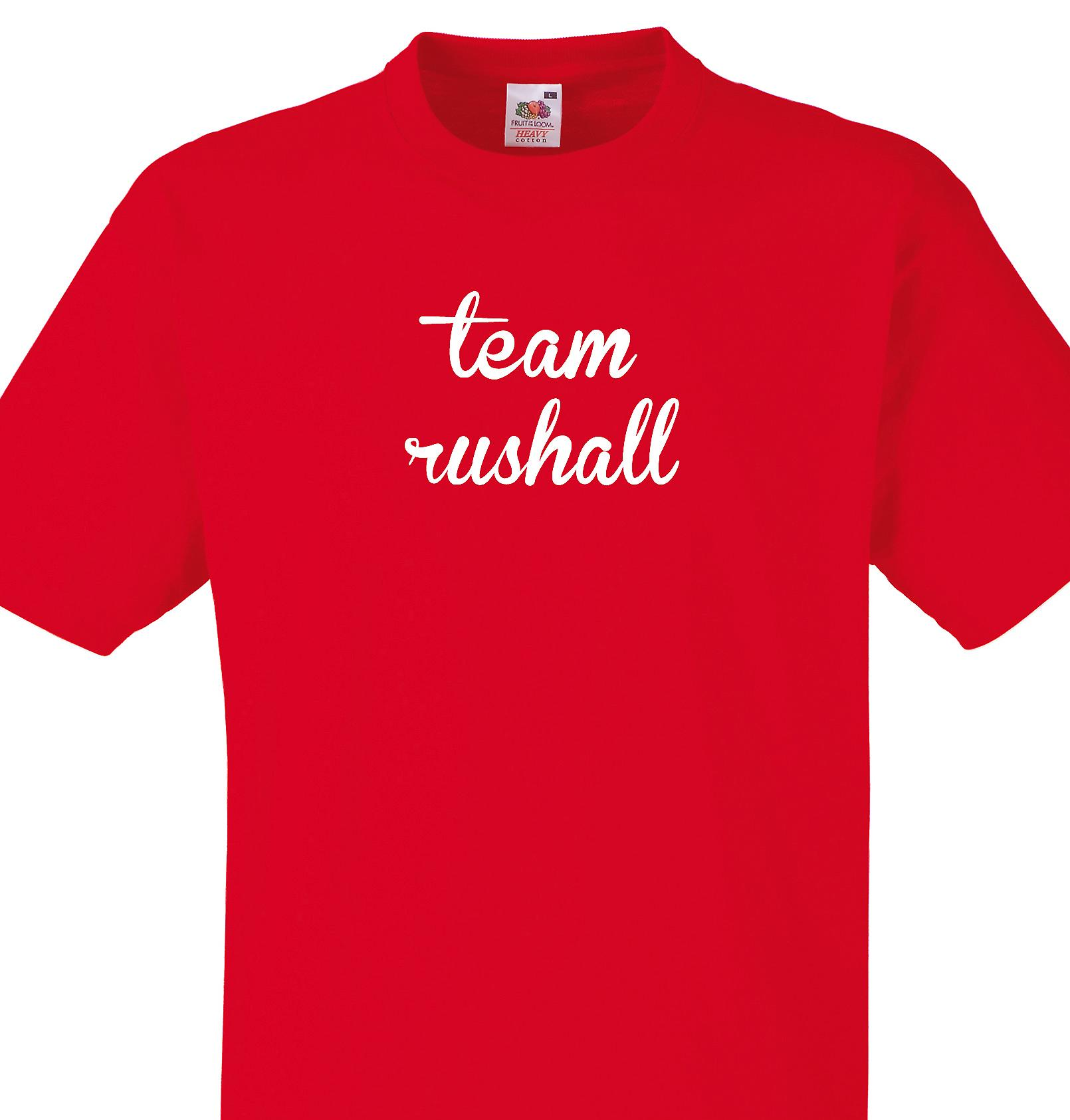 Team Rushall Red T shirt