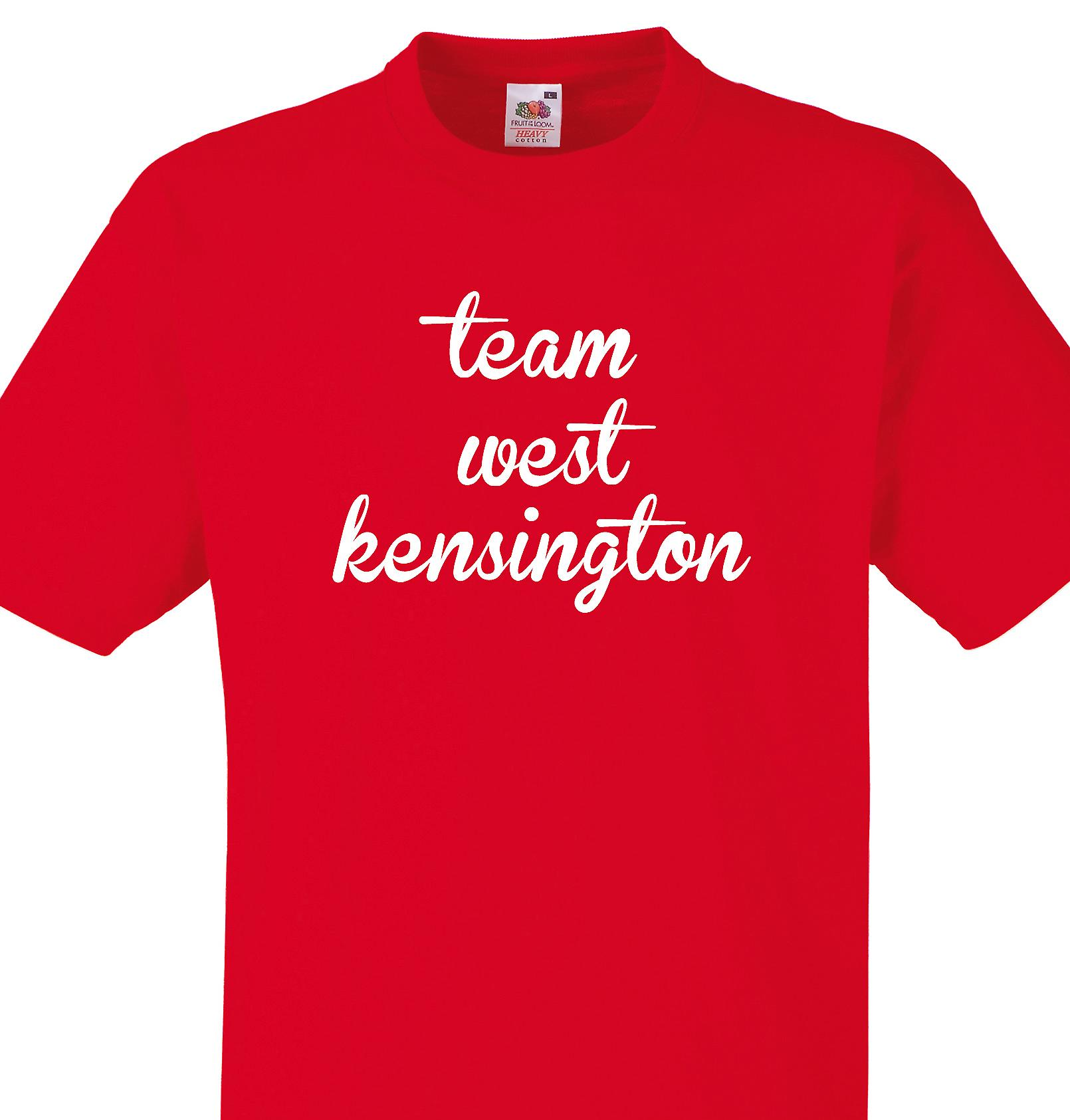 Team West kensington Red T shirt