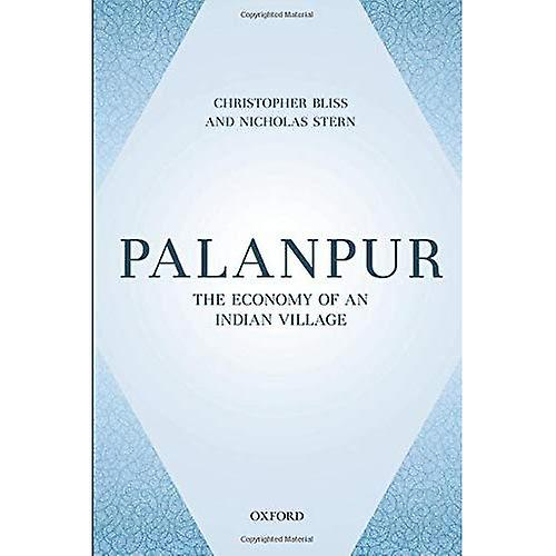Palanpur  The Economy of an Indian Village