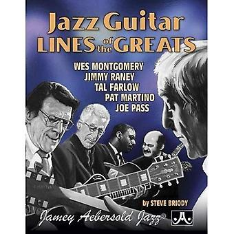 Jazz Guitar Lines of the Greats: Wes Montgomery * Jimmy Raney * Tal Farlow * Pat Martino * Joe Pass,� Spiral Bound Book