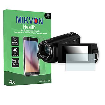 Panasonic HC-W580 Screen Protector - Mikvon Health (Retail Package with accessories)