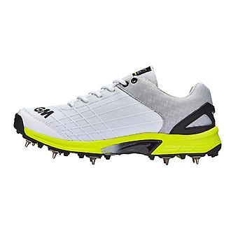 Gunn & Moore 2019 Original Junior Kids Cricket Spikes Shoe White/Lime