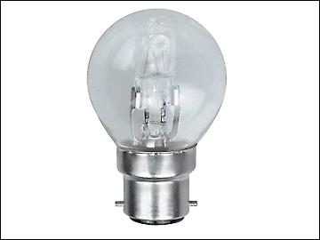 Eveready Lighting G45 ECO Halogen Bulb 42 Watt (54 Watt) BC/B22 Bayonet Cap Box 1