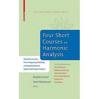 Quatro cursos de curtos duração na análise harmônica Wavelets quadros TimeFrequency métodos e aplicações de sinal e análise de imagem por Christensen & Ole