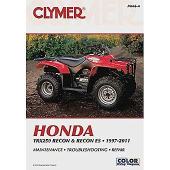 Honda TRX Recon & Recon ES Clymer Manual: 97-16