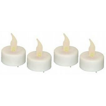 Battery Operated Tea Light Candles 24 Per Pack