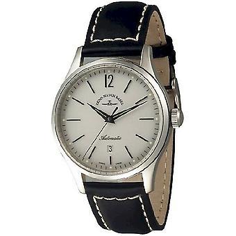 Zeno-watch mens watch event gentleman automatic 43 white 6564-2824-i2