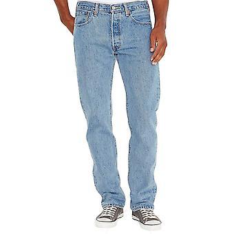 Levi's 501 Original Fit Jeans ljus bryts i blå
