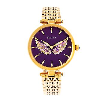 Bertha Micah Bracelet Watch - Gold