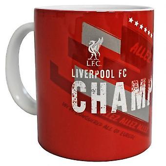 Liverpool Champions Of Europe Mug