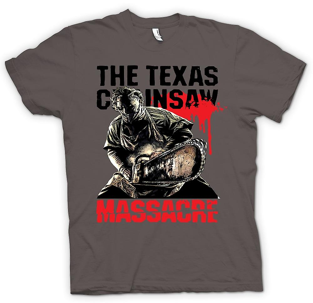 Mens T-shirt - Texas Chainsaw Massacre - Skräck