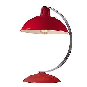 Franklin Desk lampe rouge