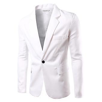 Allthemen Costume Veste Slim Fit Business Casual Blazer