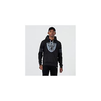 Новая эра Нфл Окленд рейдеров Тональный Черный Пуловер Худ