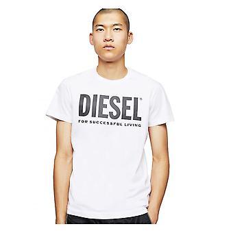 Diesel T Diego Logo Camiseta Blanco