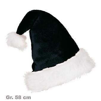 Santa Claus hat Black Bad Santa Xmas