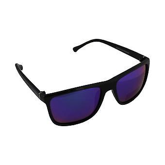 Sunglasses Aviator Polarizing glass black blue multicoloured FREE BrillenkokerS316_1