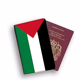 PALESTINE Flag Passport Holder Style Case Cover Protective Wallet Flags design