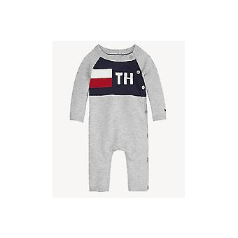 Tommy Hilfiger Boys Tommy Hilfiger Infant Boy's Grey Footless Bodysuit