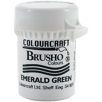 Brusho Crystal Colour 15g-Emerald Green BRB12-EG