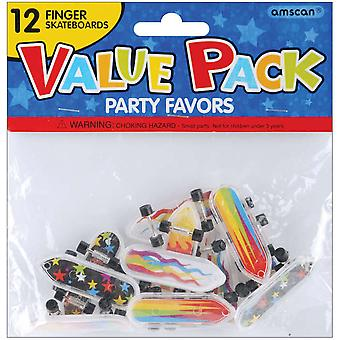 Party Favors 12 Pkg Finger Skateboards 390342
