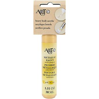 Art-C Heavy Body Acrylic Paint 30ml-Metallic Gold HBA-27003