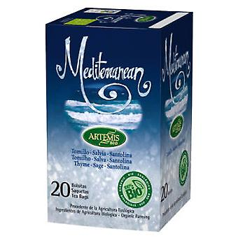 Herbes del Molí Eco 20 Mediterranean Infusion Filters (Herboristerie , Infusions)
