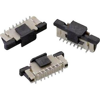 Receptacles (standard) ZIF FPC Total number of pins 40 Würth Elektronik 687340124422 Contact spacing: 0.50 mm 1 pc(s)