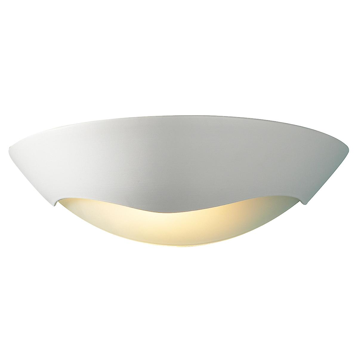 Dar HEL072 Hellas Ceramic Wall Light Double Insulated