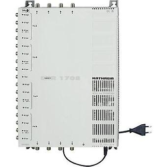 SAT cascade multiswitch Kathrein EXR 1708 Inputs (multiswitches): 17 (16 SAT/