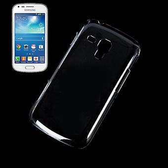 Protective cover case Hard Cover for mobile Samsung Galaxy S duos S7562 transparent