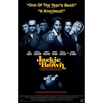 Affiche de film de Jackie Brown (11 x 17)