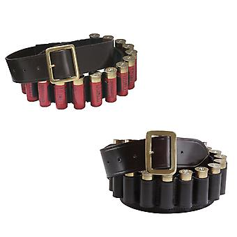 Croots Malton 12G or 20G Cartridge Belt Bridle Leather - 25 cartridge capacity
