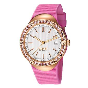 ESPRIT collection ladies watch wristwatch Eunomia silicone EL101982F04
