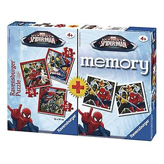Ravensburger Multipack Memory Con  3 Puzzles Ultimate Spiderman