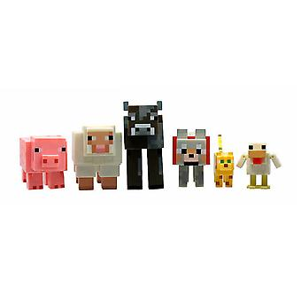 Giochi Preziosi Minecraft-Pack 6 Animals