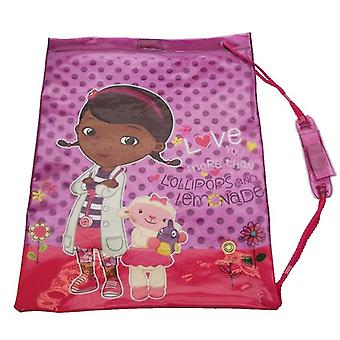 Officially Licensed | DISNEY | DOC MCSTUFFINS | LOVE YOU MORE THAN | SWIM BAG