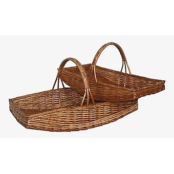 Garden Basket Garden Trug Set of 2