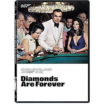 Diamonds Are Forever [DVD] USA importerer